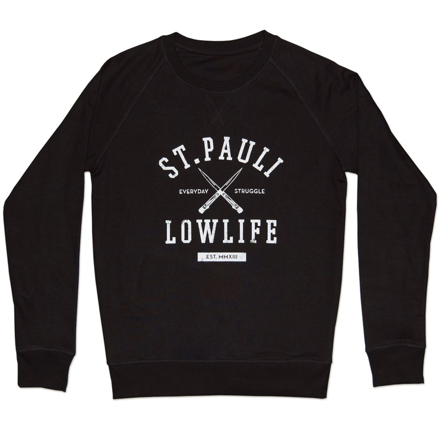 Image of Struggle Sweater // Unisex // schwarz