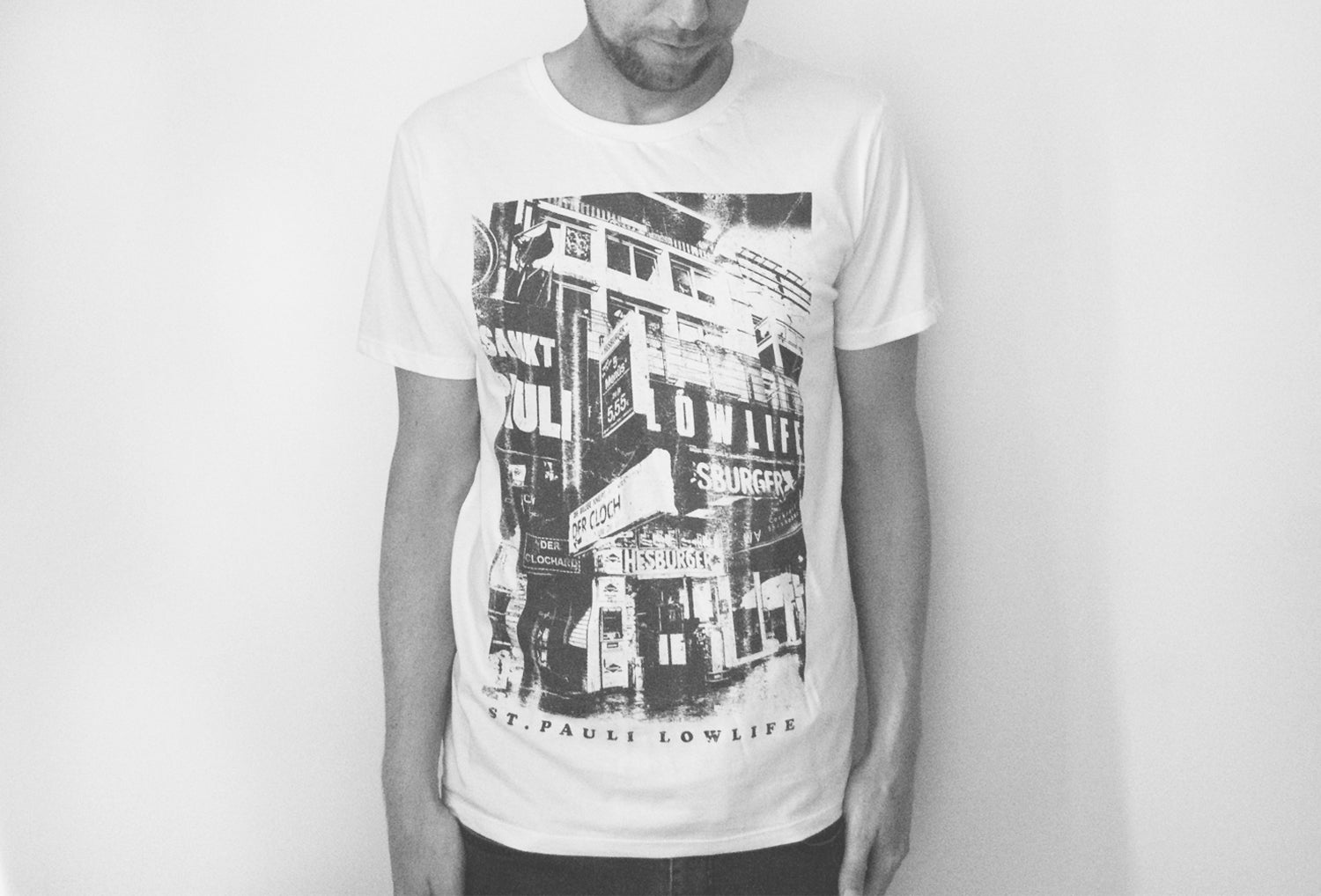 Image of Clochard T-Shirt // Unisex // weiß