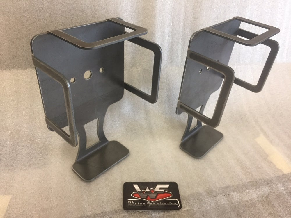 Image of Universal Trailer Light Mounting Brackets with Side Guards