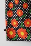 Image of SALE Orange Daisies And Dots Dress (Orig $62)