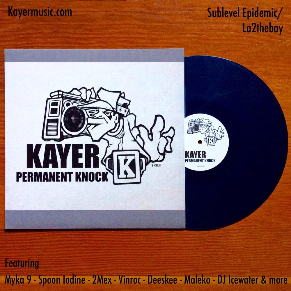 Image of Kayer Permanent Knock Vinyl LP