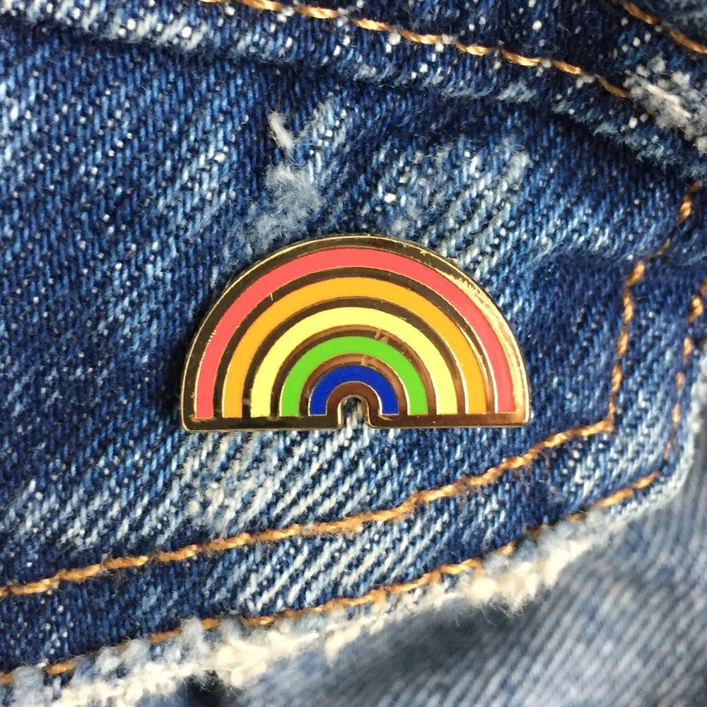 Image of Rainbow Enamel Pin
