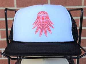 Image of Falcon Trucker Hat - BLACK