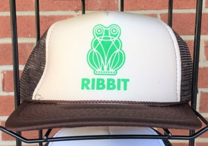 Image of Frog Trucker Hat - BROWN