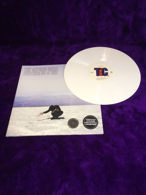 "Image of Everything Out of Tune 12"" LP White"