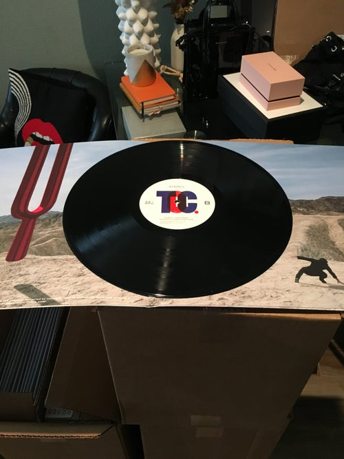 "Image of Everything Out of Tune 12"" LP Classic Black"