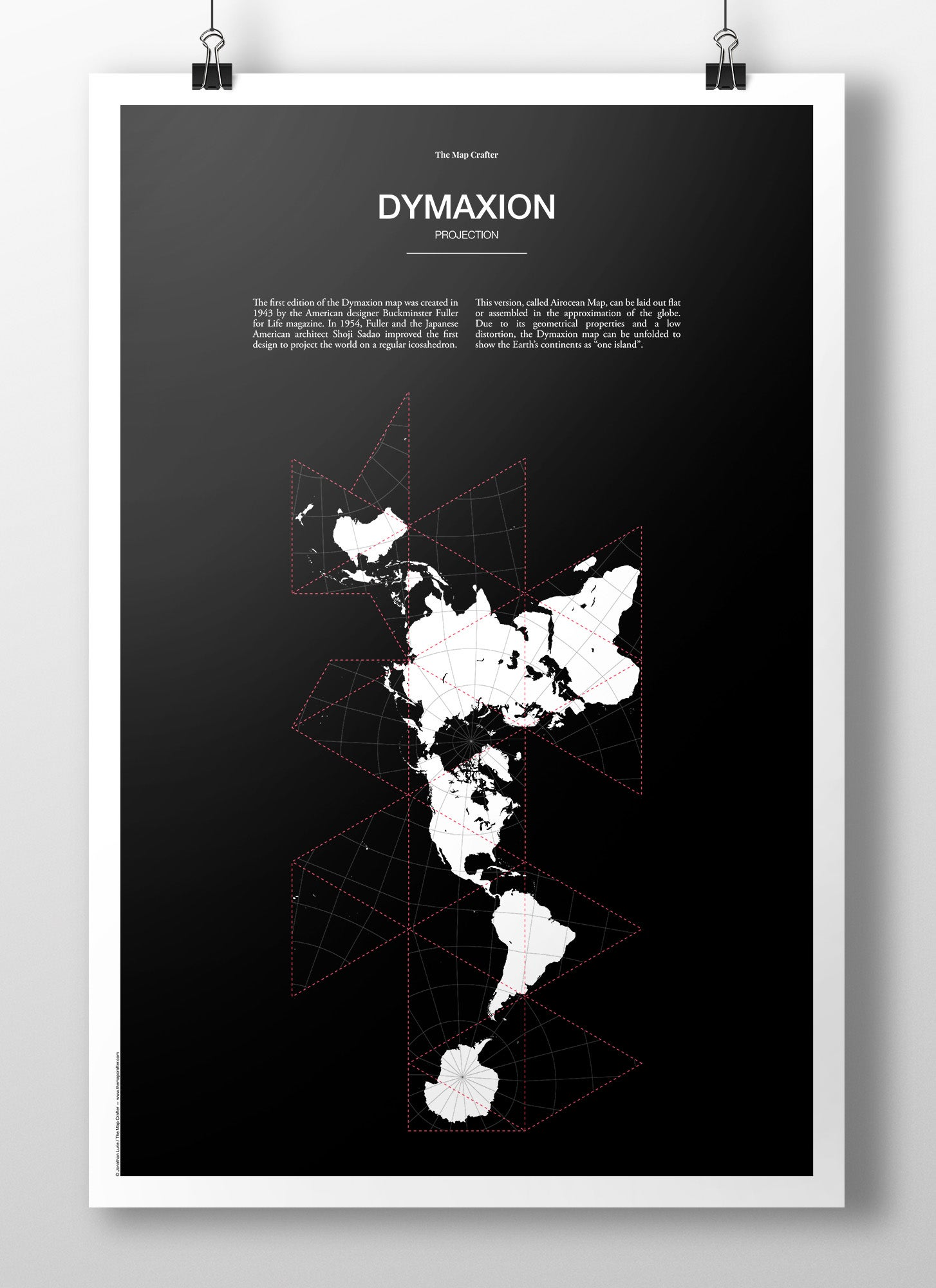 Image of Dymaxion Projection Poster