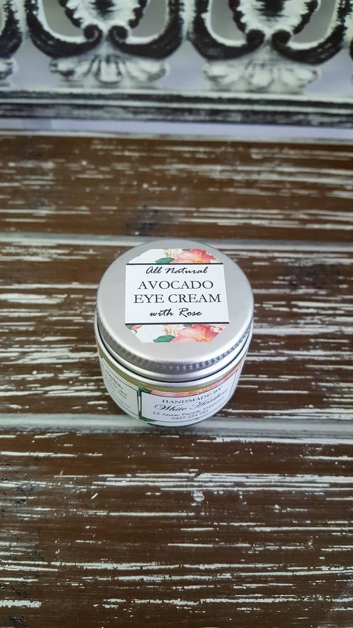 Image of Rose Avocado Eye Cream