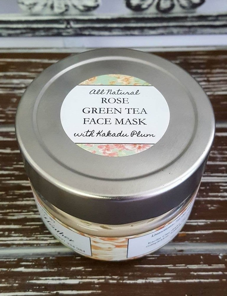 Image of Rose & Green Tea Face Mask
