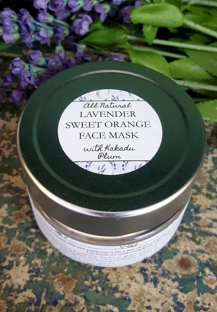 Image of Lavender & Sweet Orange Face Mask