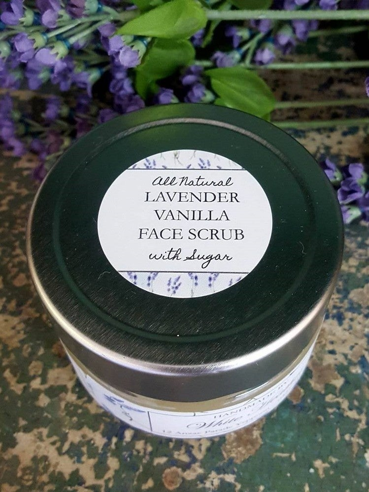 Image of Lavender & Vanilla Face Scrub