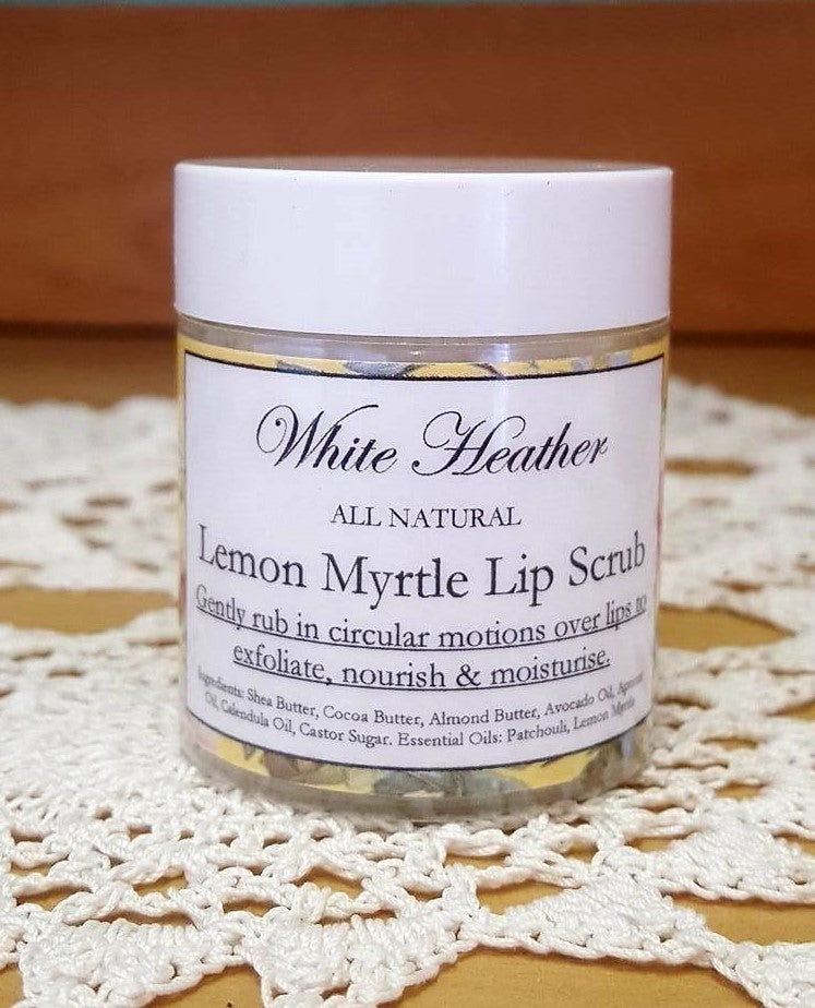 Image of Lemon Myrtle Lip Scrub
