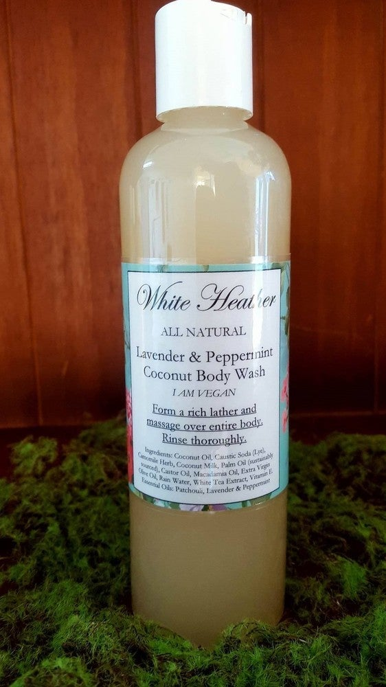 Image of Lavender & Peppermint Coconut Milk Body Wash