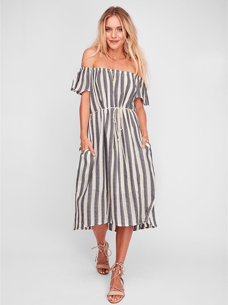 Image of SOLITO Tilila Midi Dress