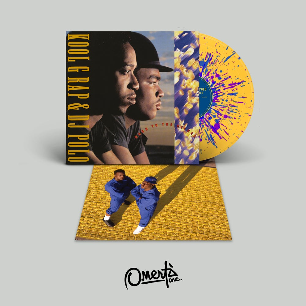 Image of Kool G Rap & DJ Polo - Road to the Riches [LP] OMINC012