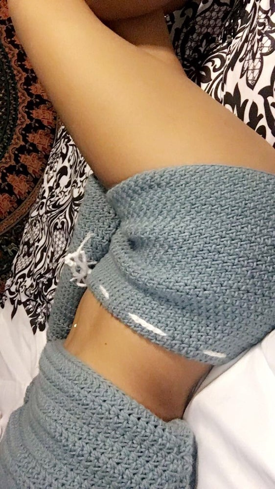 cf8c0d8cb4 ... Image of Custom Handmade Crochet Shorts ...