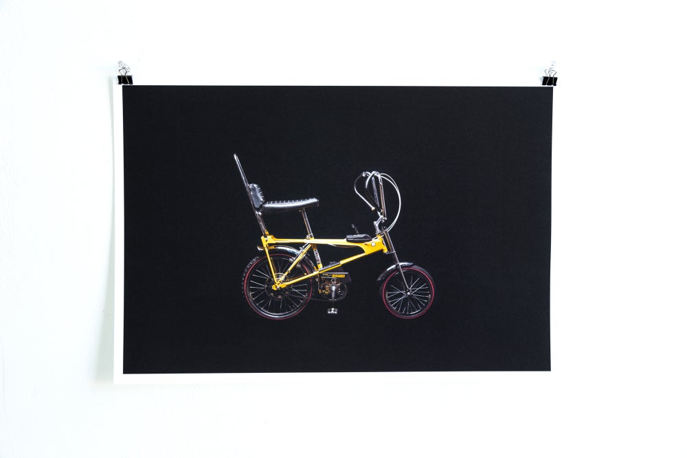 Image of Bikes on Black - CCM Marauder Giclée Print