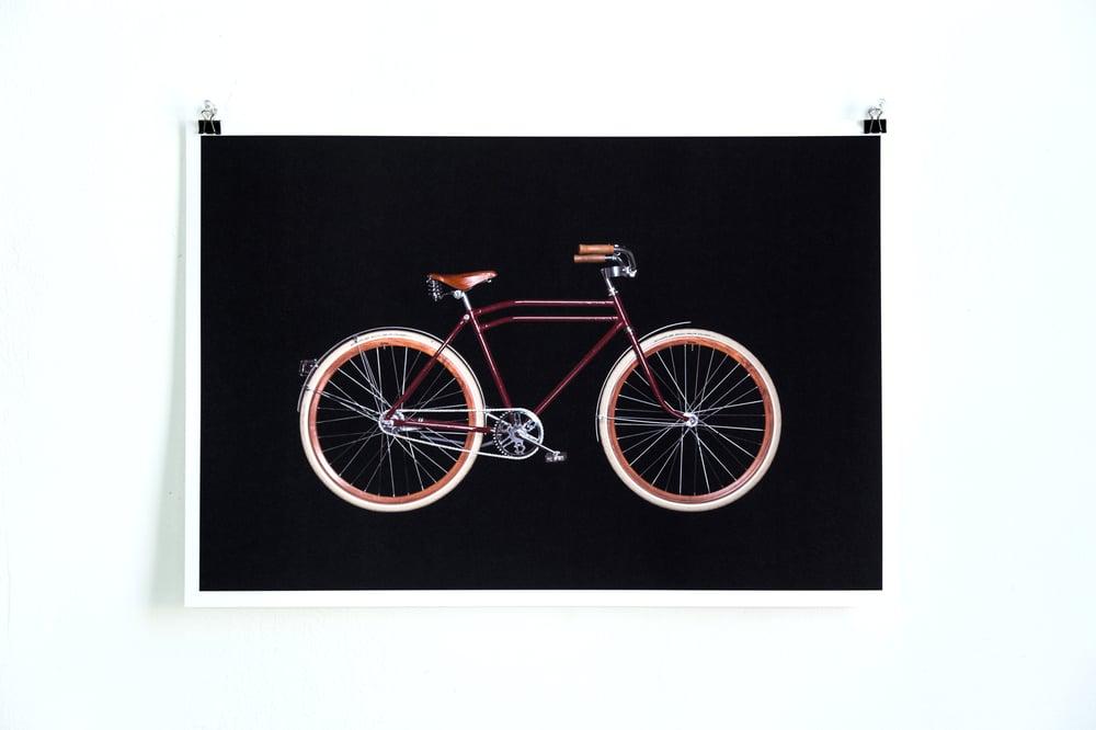 Image of Bikes on Black - Custom CCM Single Speed
