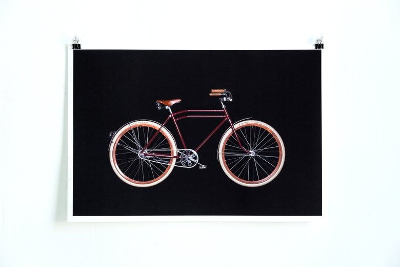 Image of Bikes on Black - Custom CCM Single Speed