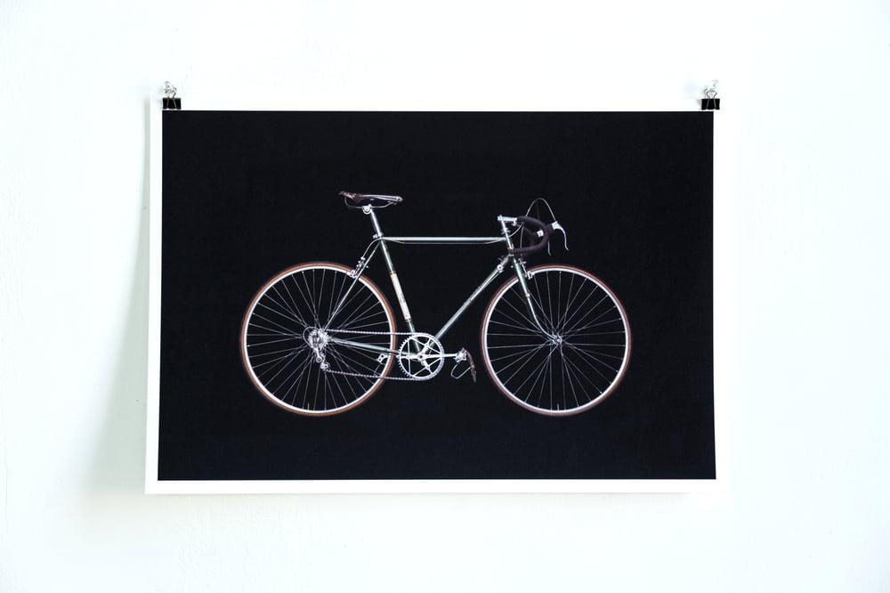 Image of Bikes on Black - Rare DK Swan Racer