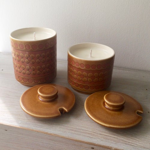 Image of Vintage Hornsea Saffron Scented Candles