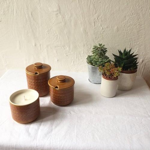 Image of Vintage Hornsea Saffron Scented Candles