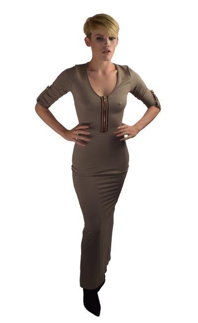 Image of Olive Max Dress