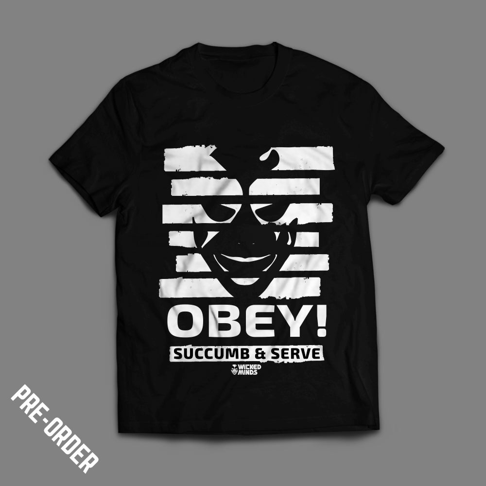 """Image of Wicked Minds - """"Obey!"""" T-shirt  *NEW*"""
