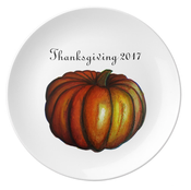 Image of Thanksgiving 2017 Commemorative Plate