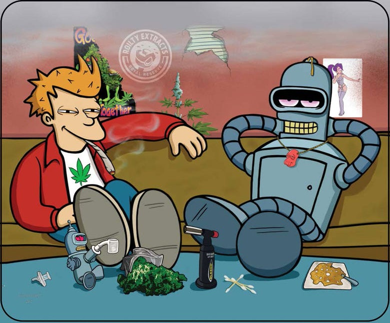 Image of Futurama Sesh Overdosed Art