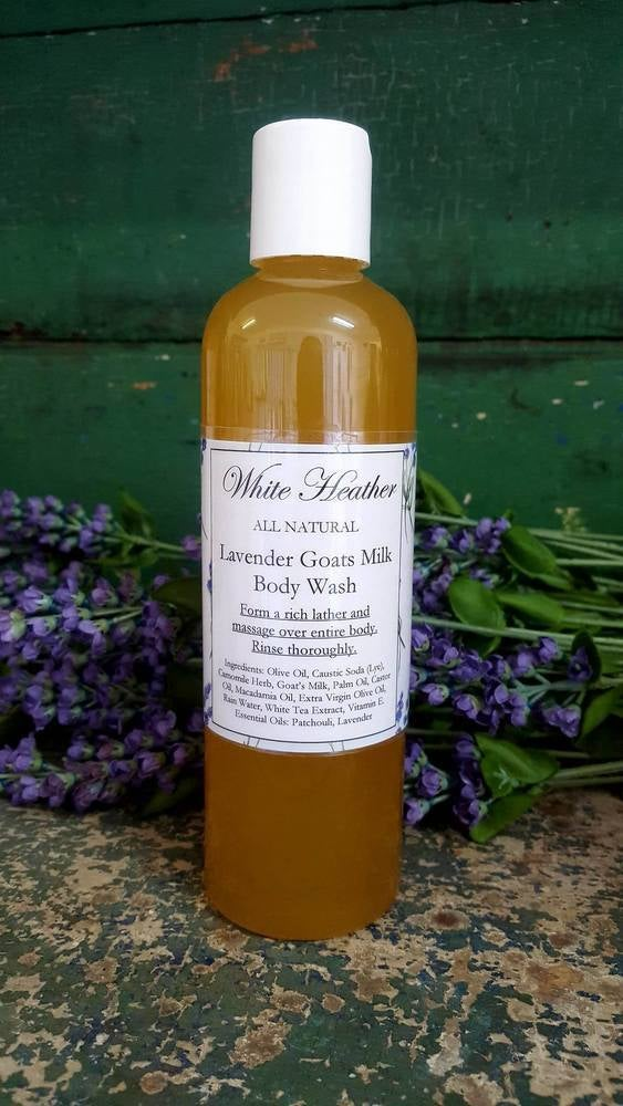 Image of Lavender Goats Milk Body Wash