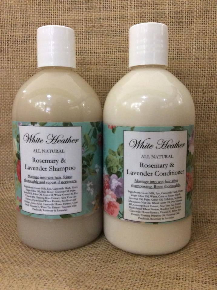 Image of Rosemary & Lavender Shampoo