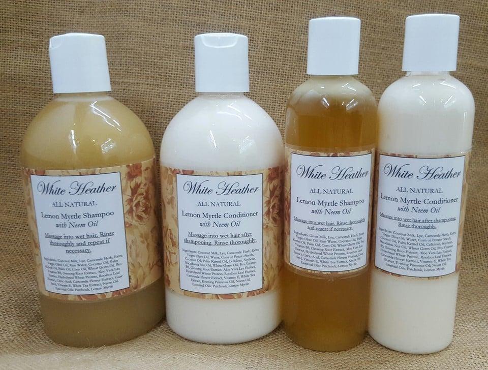 Image of Lemon Myrtle Shampoo with Neem Oil