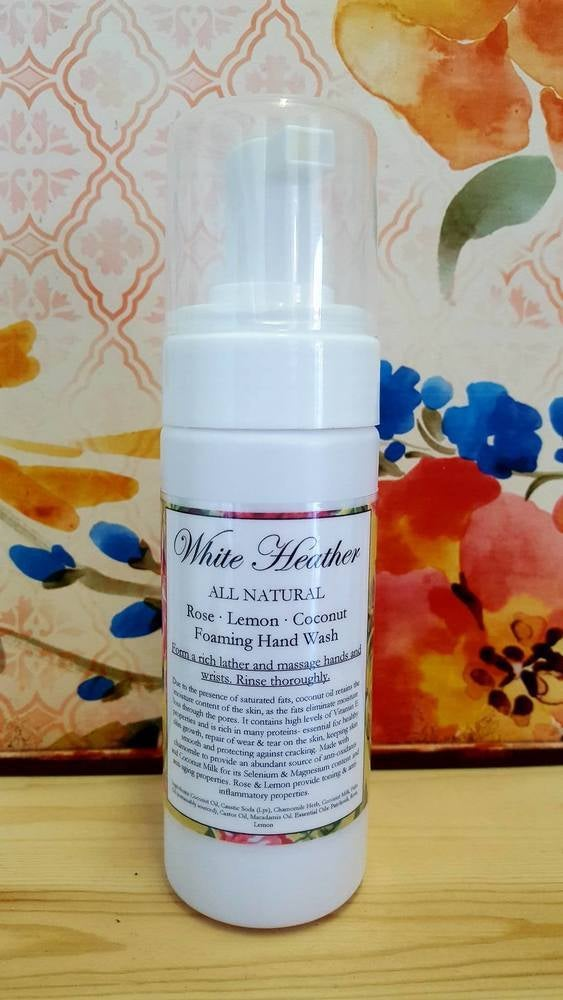 Image of Rose & Lemon Foaming Coconut Hand Wash