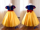 Image of Snow White Gown and Cape set