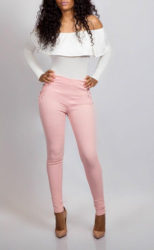 Lacy Pants Blush