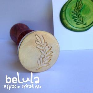 Image of Sello de lacre: Rama olivo