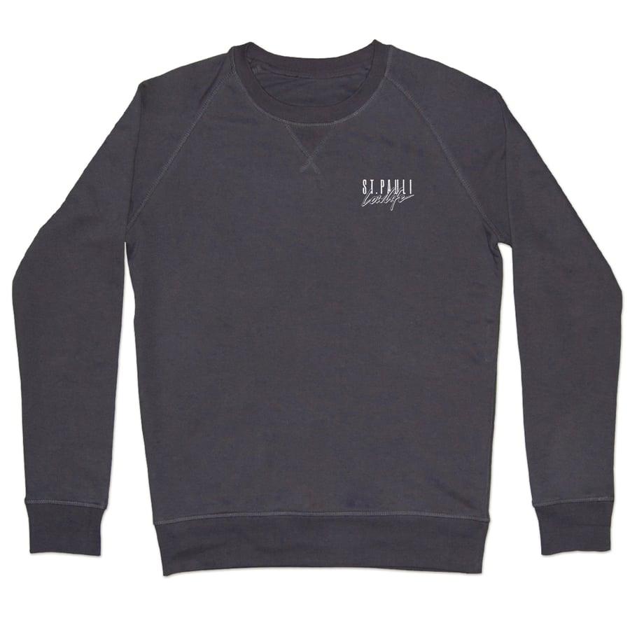 Image of Malibu Sweater // Unisex // graublau