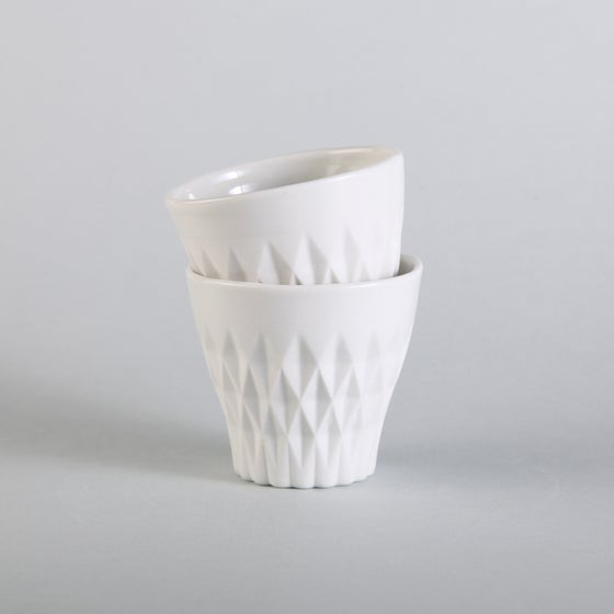 Image of CRYSTAL PALACE porcelain cup X2