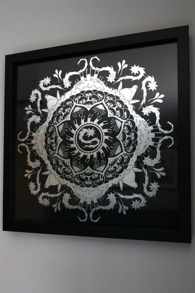 Image of Mandala Silver