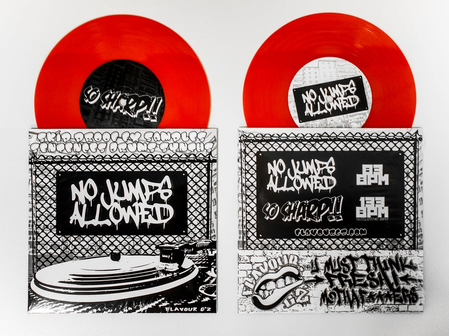 Image of No Jumps Allowed 7'' by Flavour G'z
