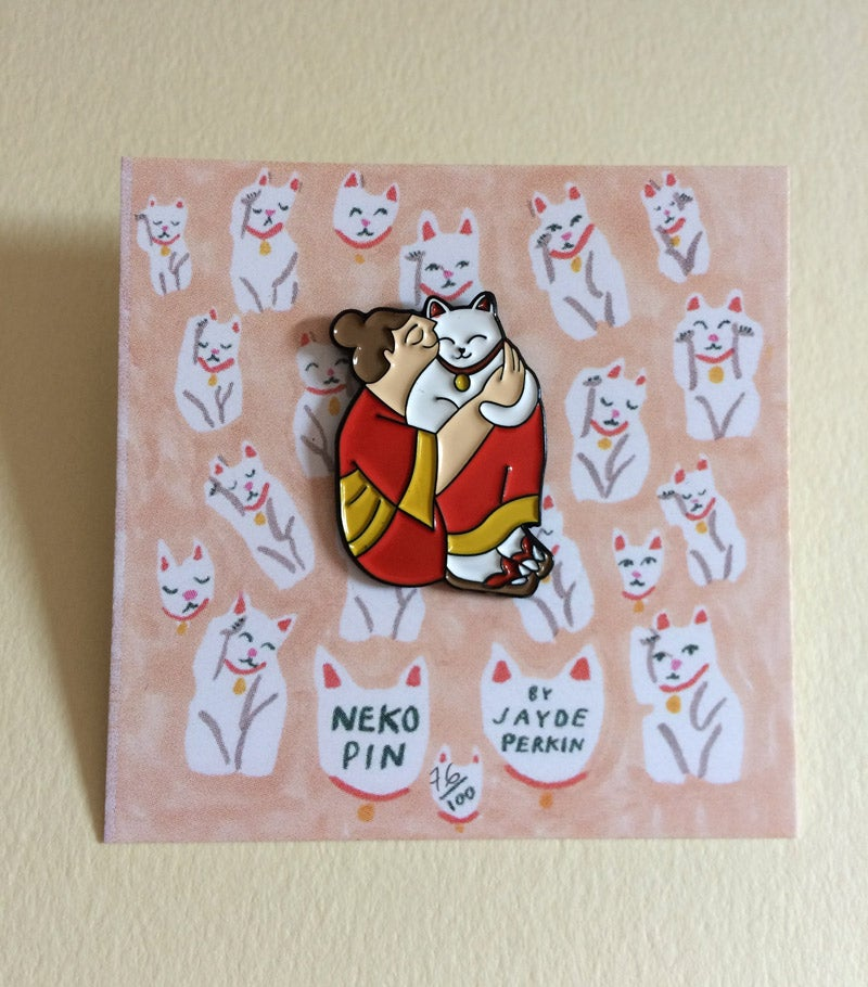 Image of Neko enamel pin