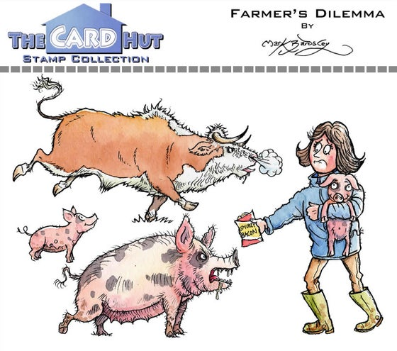 Image of Farmer's Dilemma - Stamp set