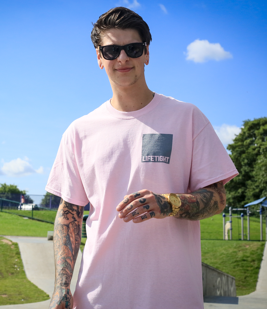Image of LIFETIGHT TEE PINK