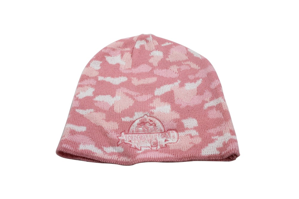 Image of Pink Camo Beanie