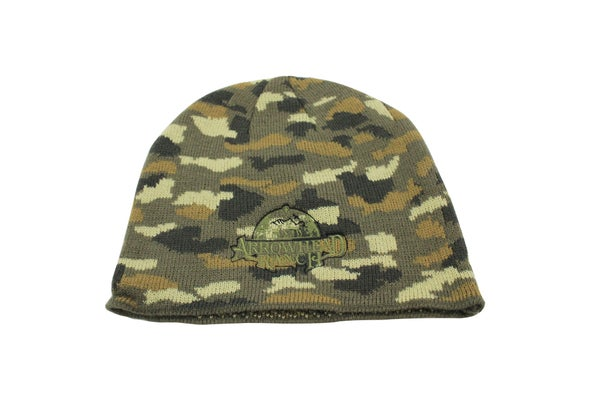 Image of Green Camo Beanie