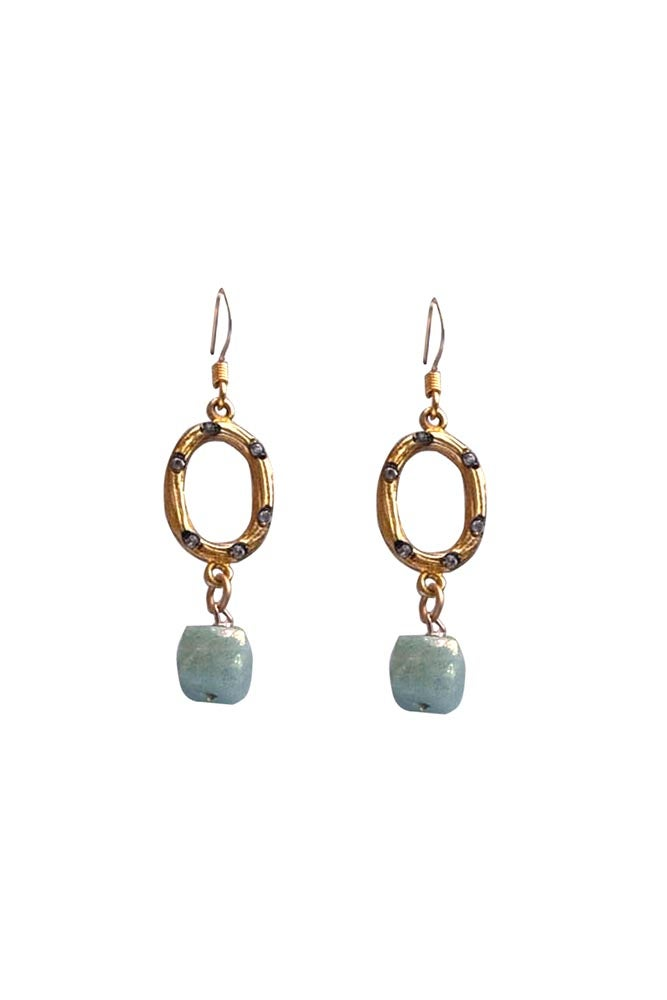 Image of Small Oval Earrings