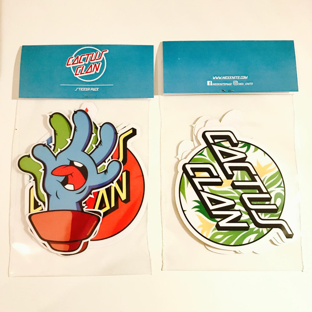 Image of Cactus Cruz Sticker Pack 2