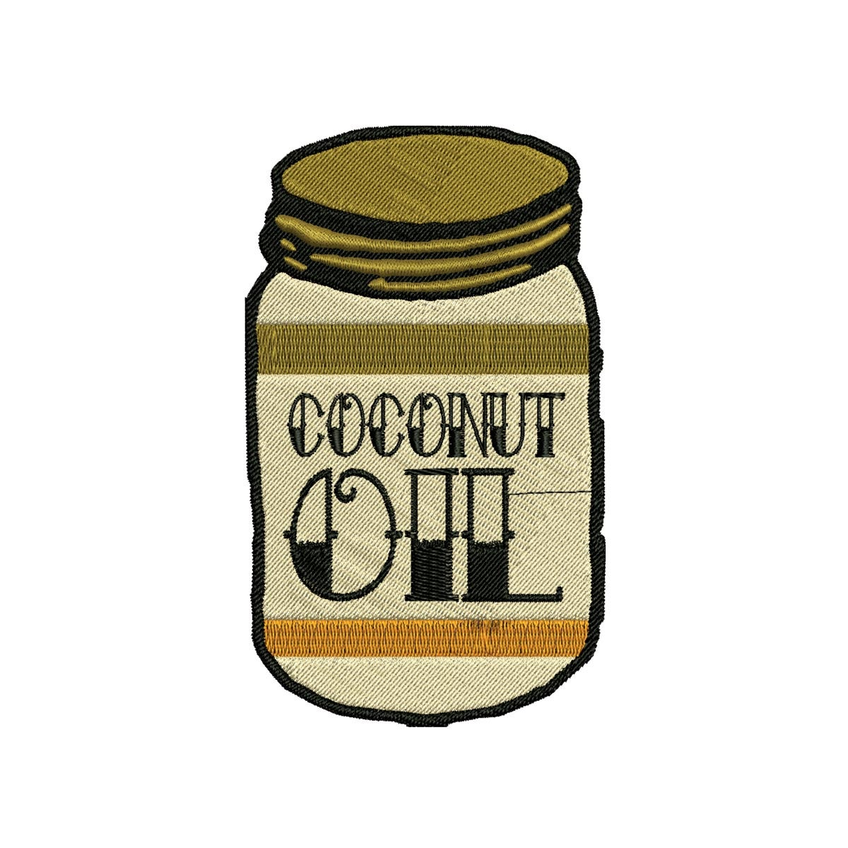 Image of Coconut Oil Is Life Patch