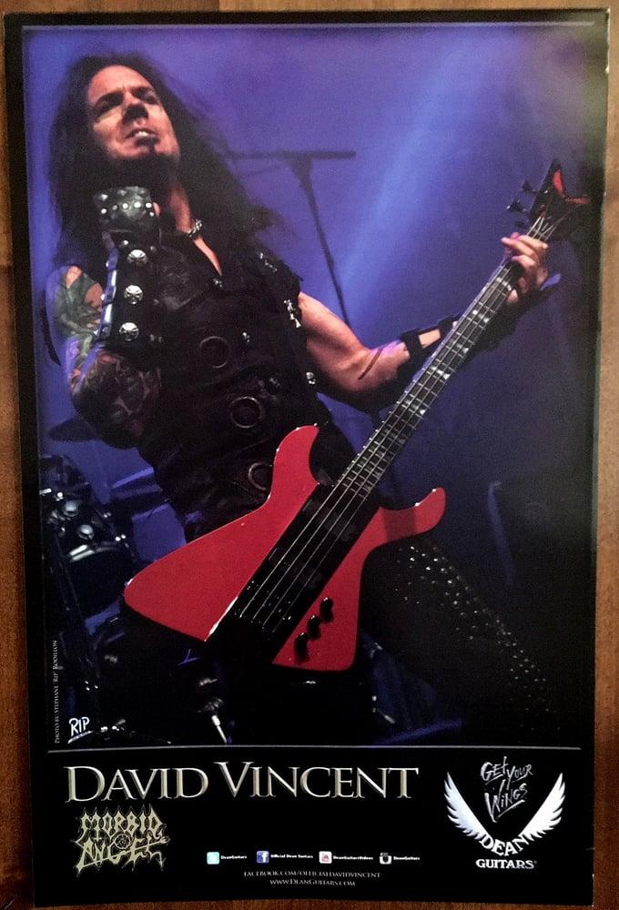 """Image of David Vincent """"Legacy"""" Demonator Poster #2 (Signed)"""